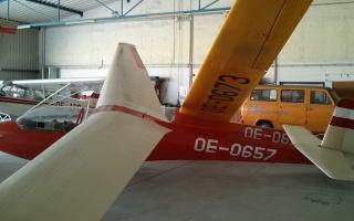 K7 und K8 im Hangar